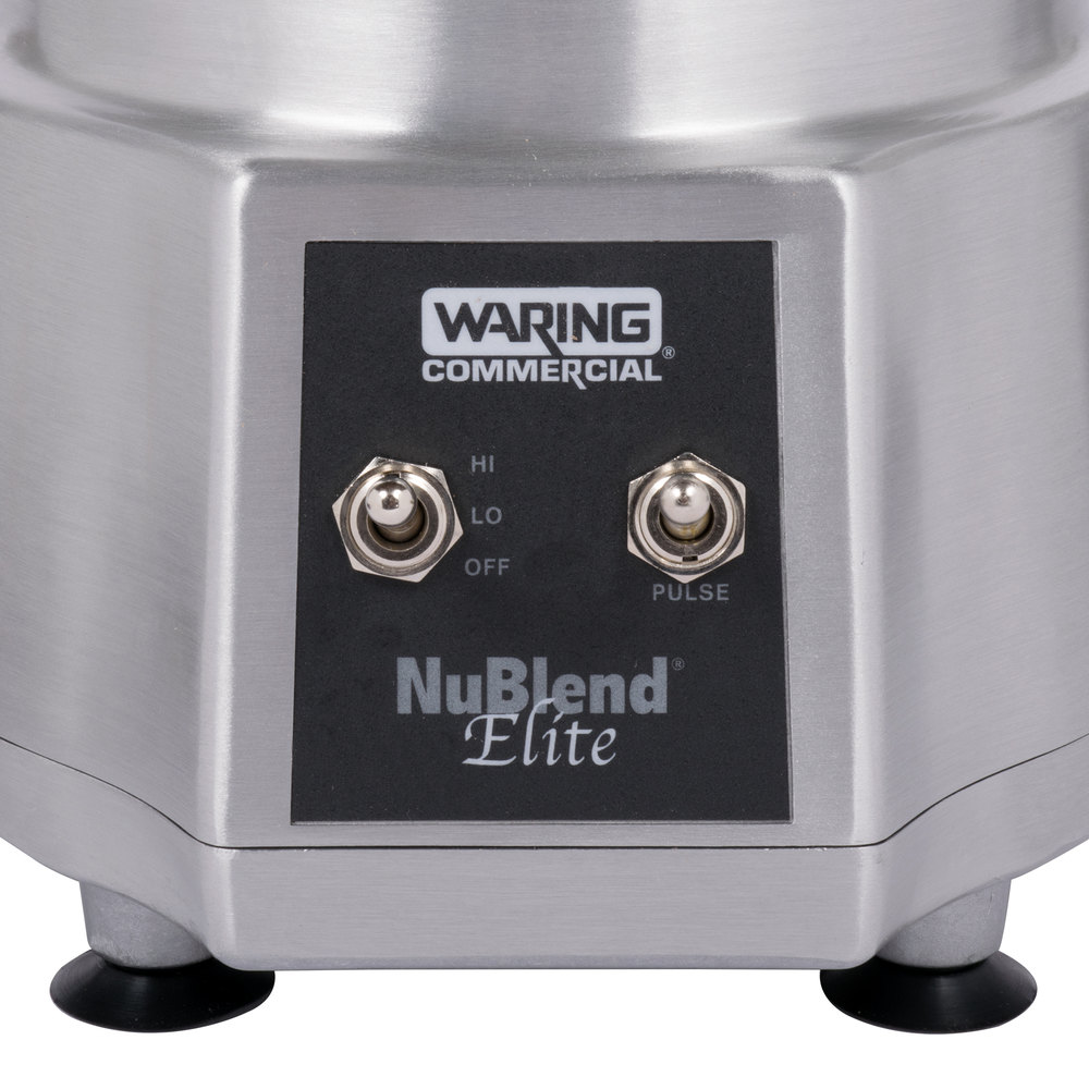 949392 waring bb190 nublend elite commercial blender with 44 oz  at edmiracle.co