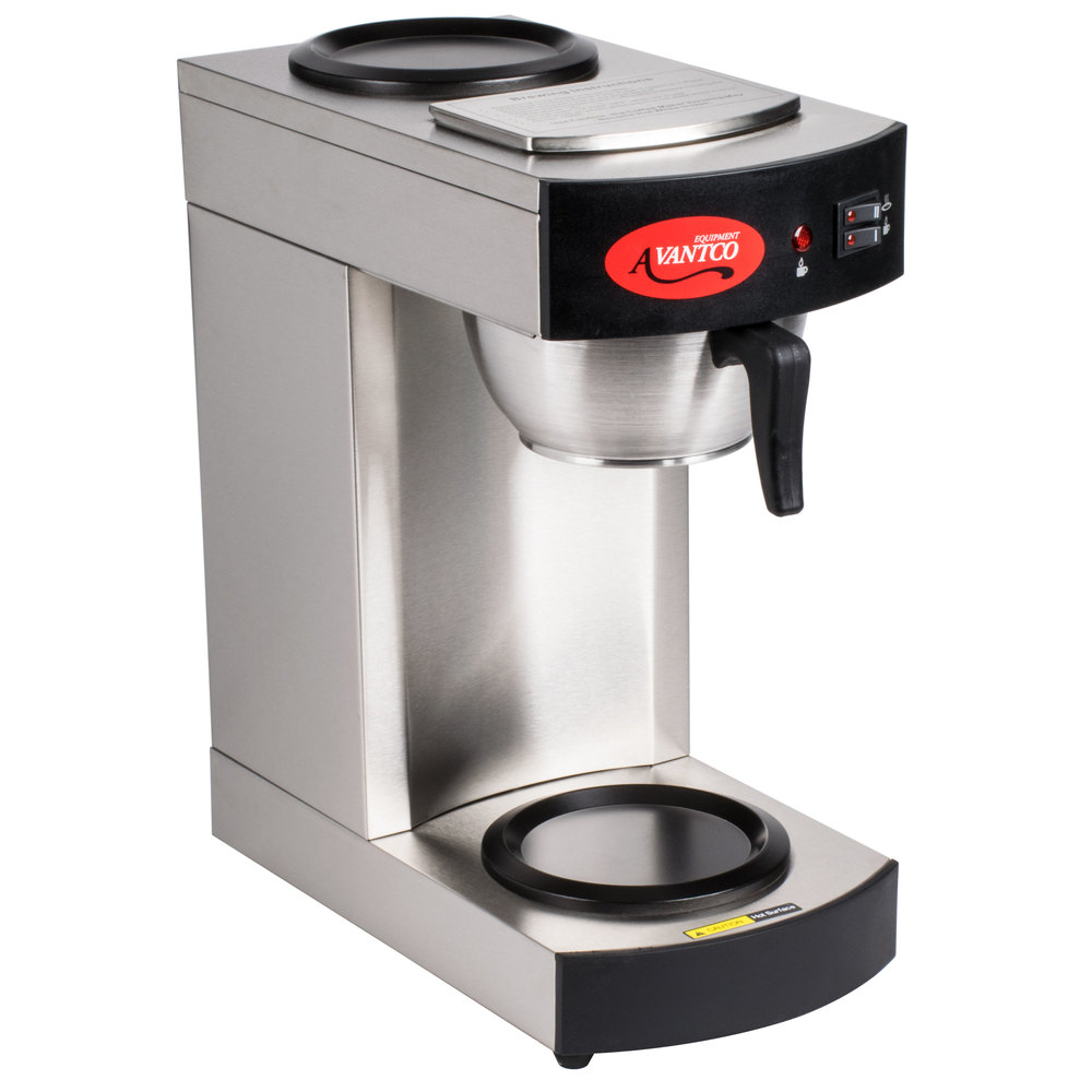 Commercial Coffee Maker ~ Avantco c cup pourover commercial coffee maker with