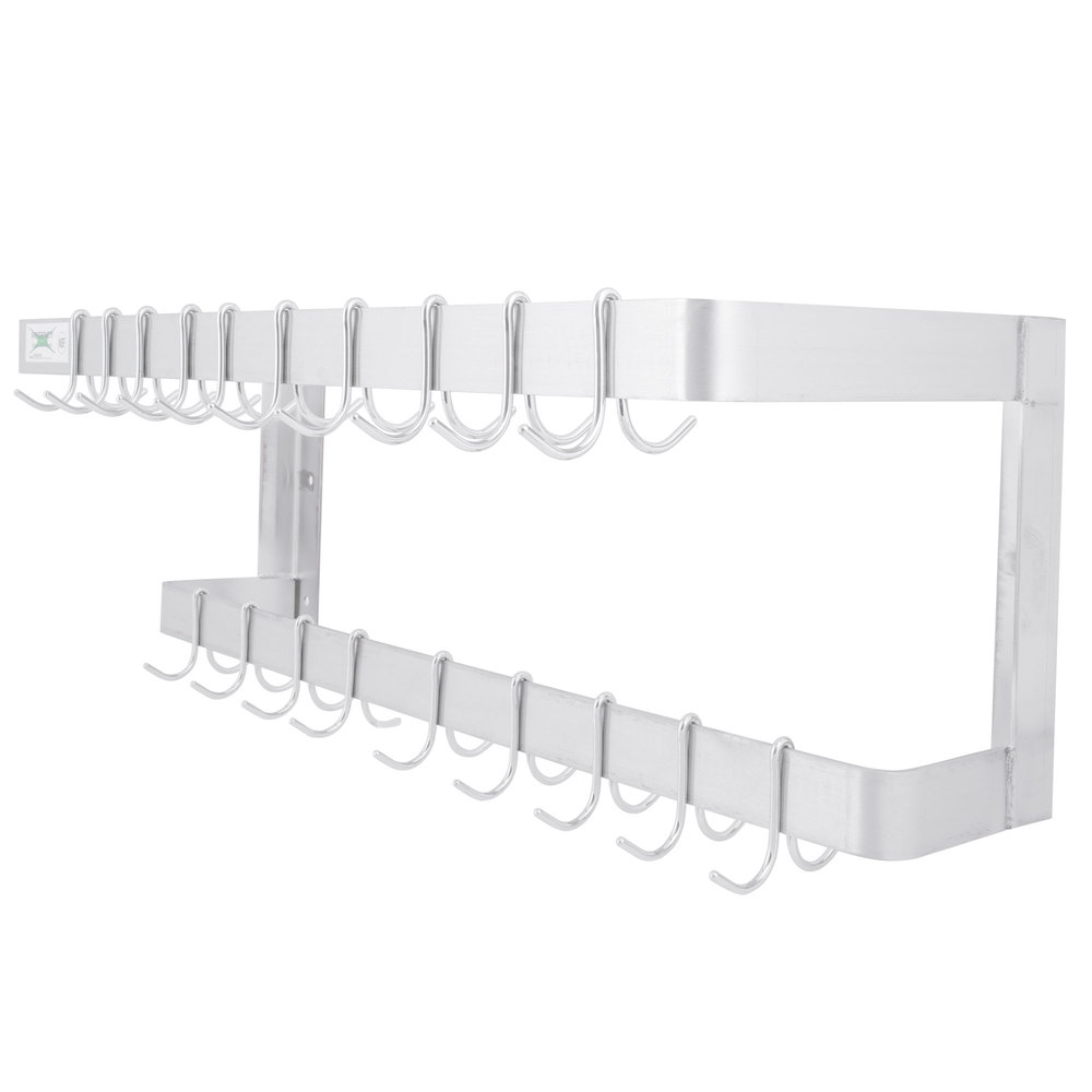 """Regency 36"""" Wall Mounted Commercial Stainless Steel Double ..."""