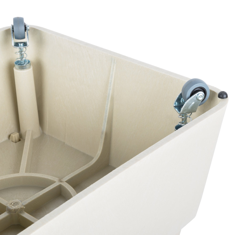 Continental 523tn Step Stool 13 Quot Beige With Casters