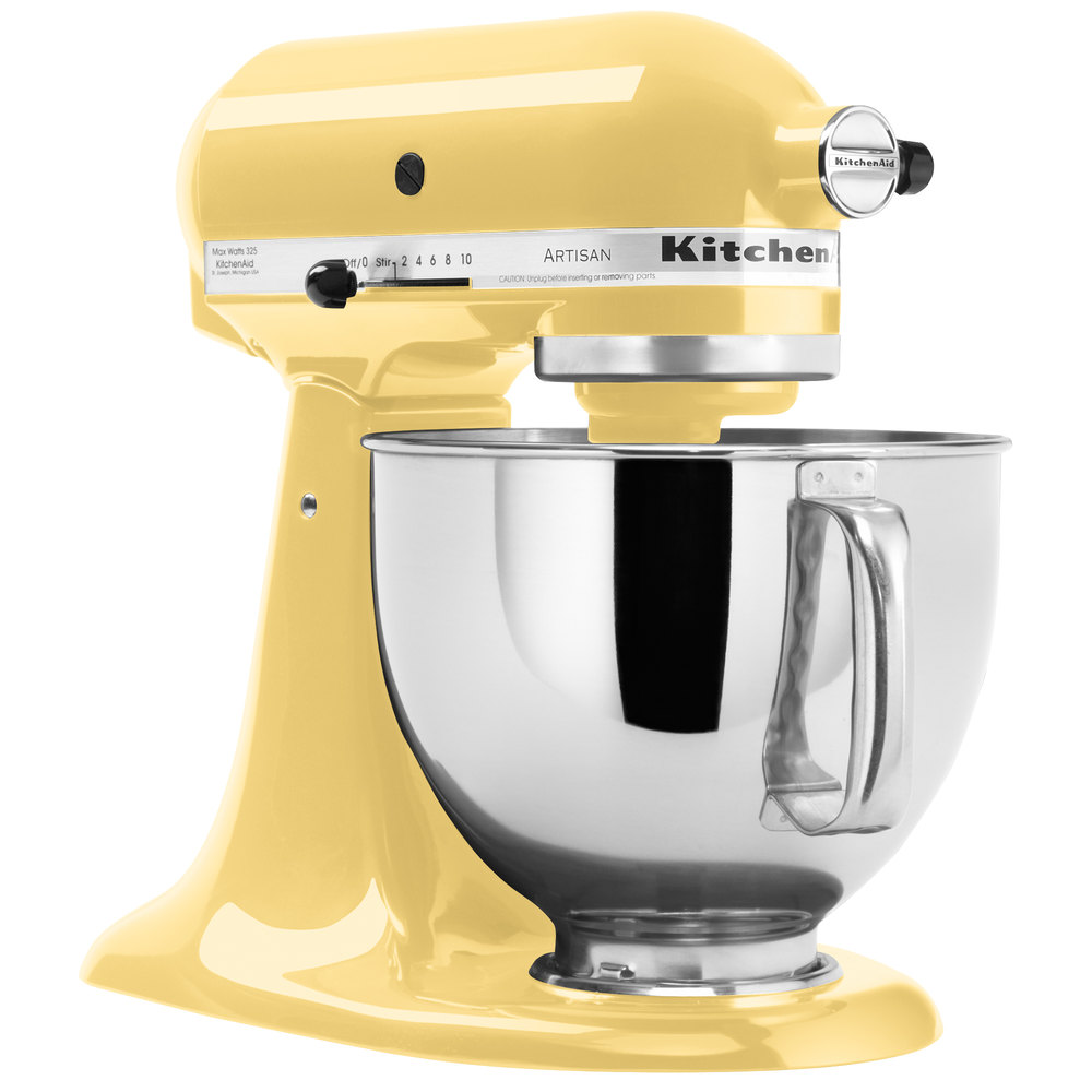 KitchenAid KSM150PSMY Majestic Yellow Artisan Series 5 Qt  -> Kitchenaid Yellow