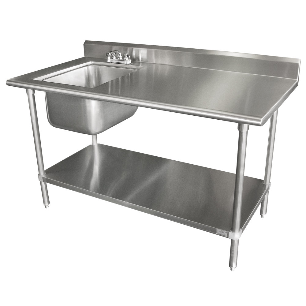 Advance Tabco Kms 11b 306 30 Quot X 72 Quot 16 Gauge Stainless