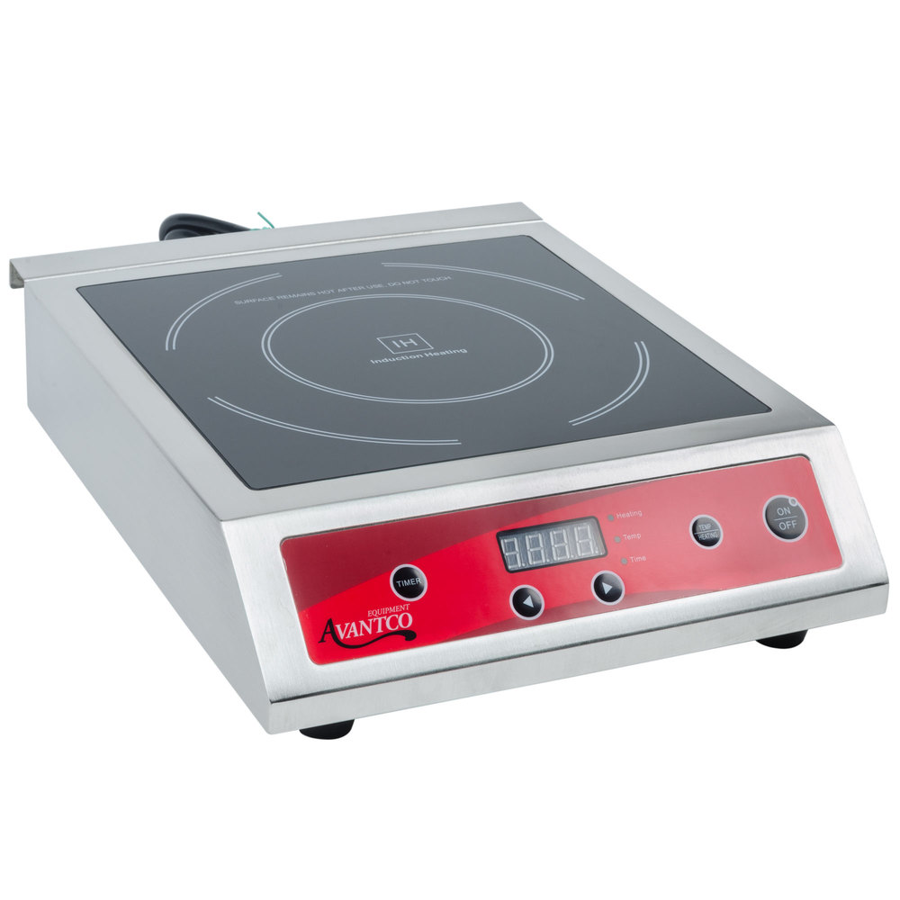 Countertop Induction Stove : Avantco IC3500 Countertop Induction Range / Cooker - 208/240V, 3500W