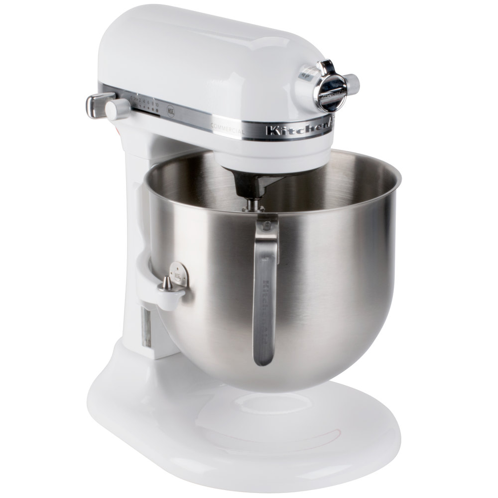 KitchenAid KSMC8QBOWL 8 Qt. NSF Stainless Steel Mixing Bowl with ...