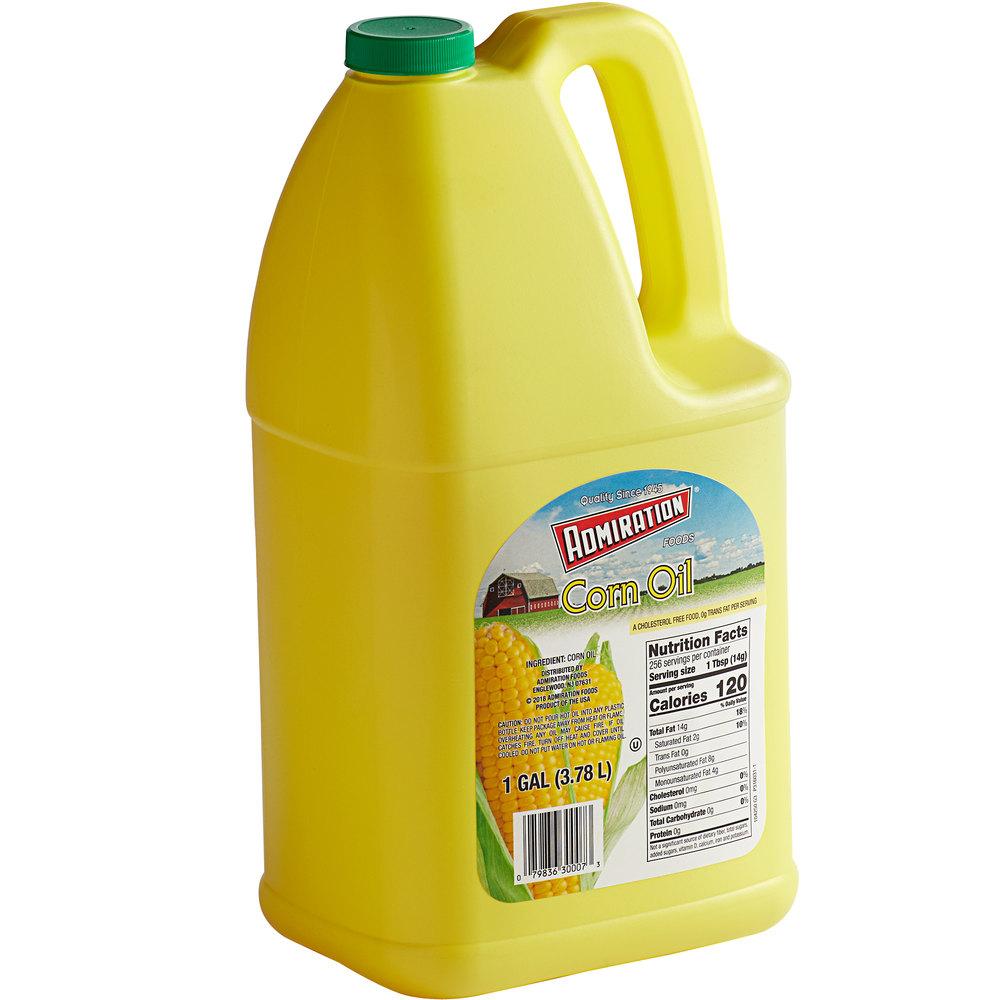 Jug of Admiration corn oil