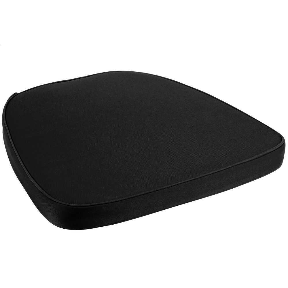 Black chair cushion - Main Picture Image Preview