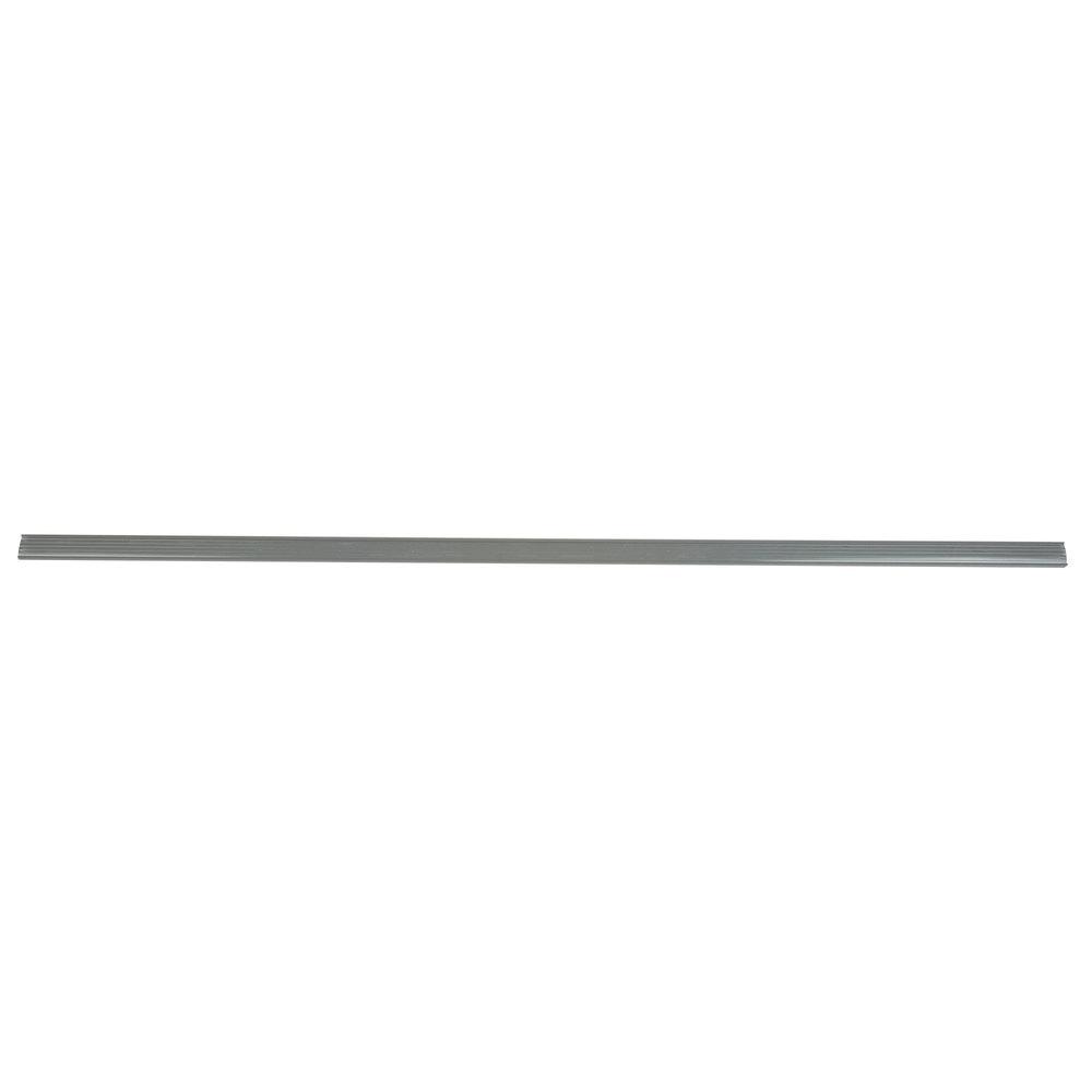 Regency 55 inch x 1 1/4 inch Gray Label Holder