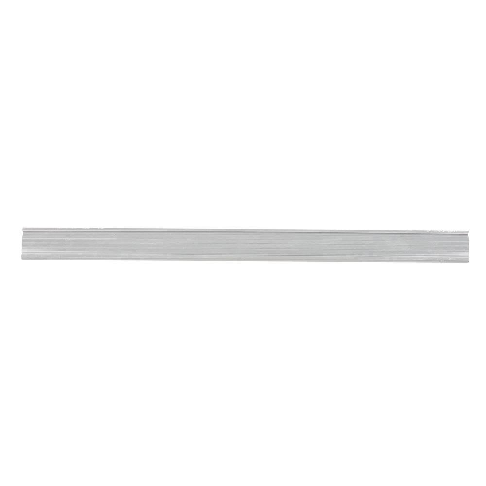 Regency 19 inch x 1 1/4 inch Gray Label Holder