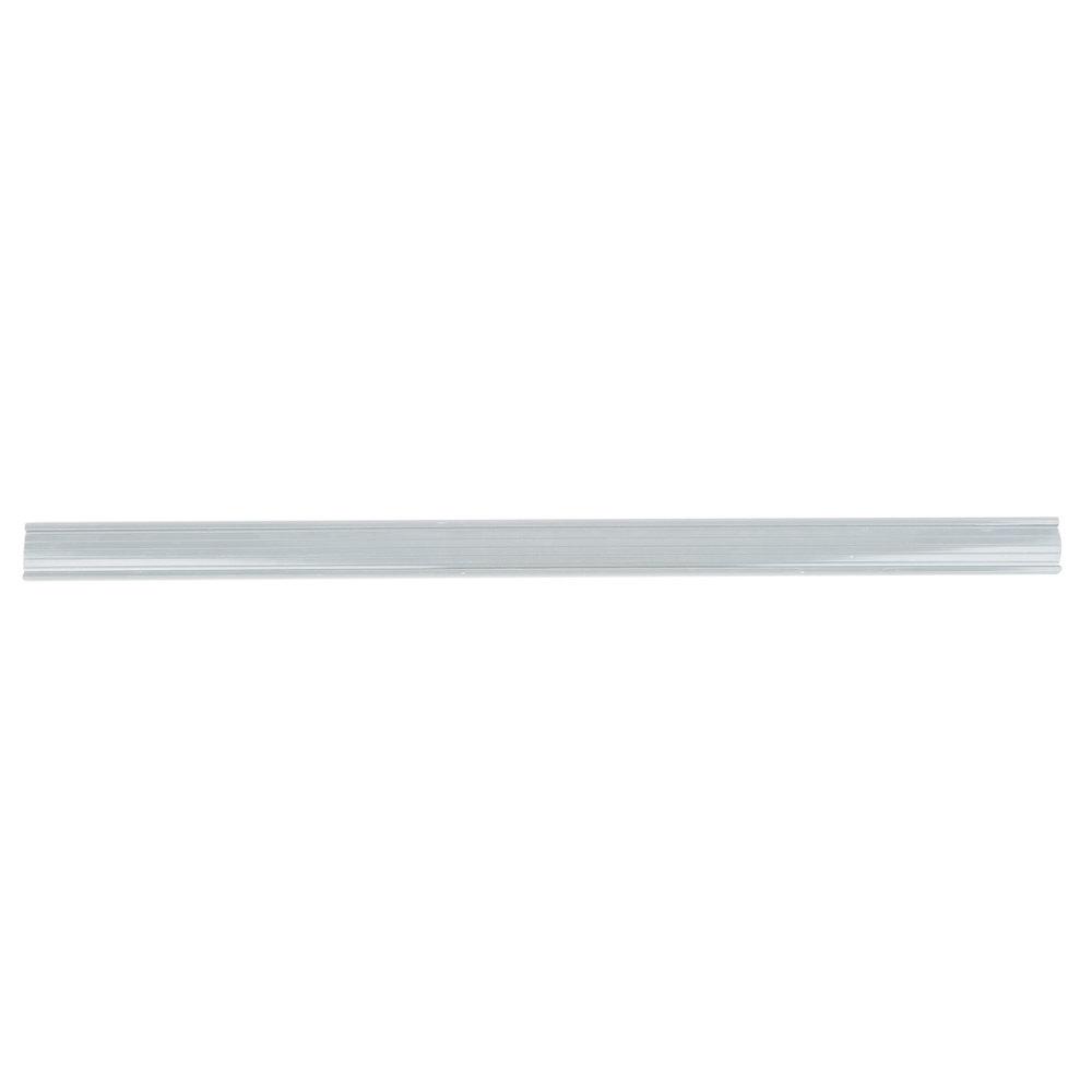 Regency 25 inch x 1 1/4 inch Gray Label Holder