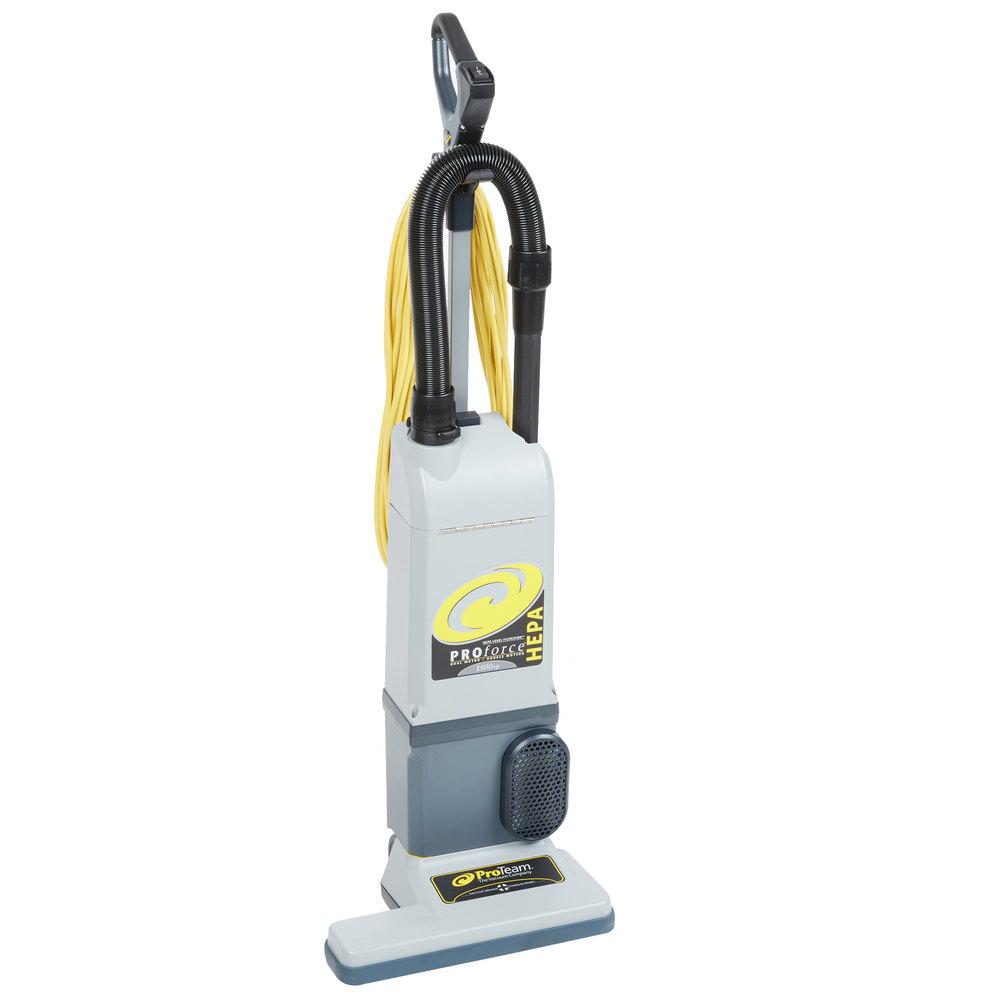 Proteam 107252 Proforce 1500xp Hepa 15 Quot Upright Vacuum