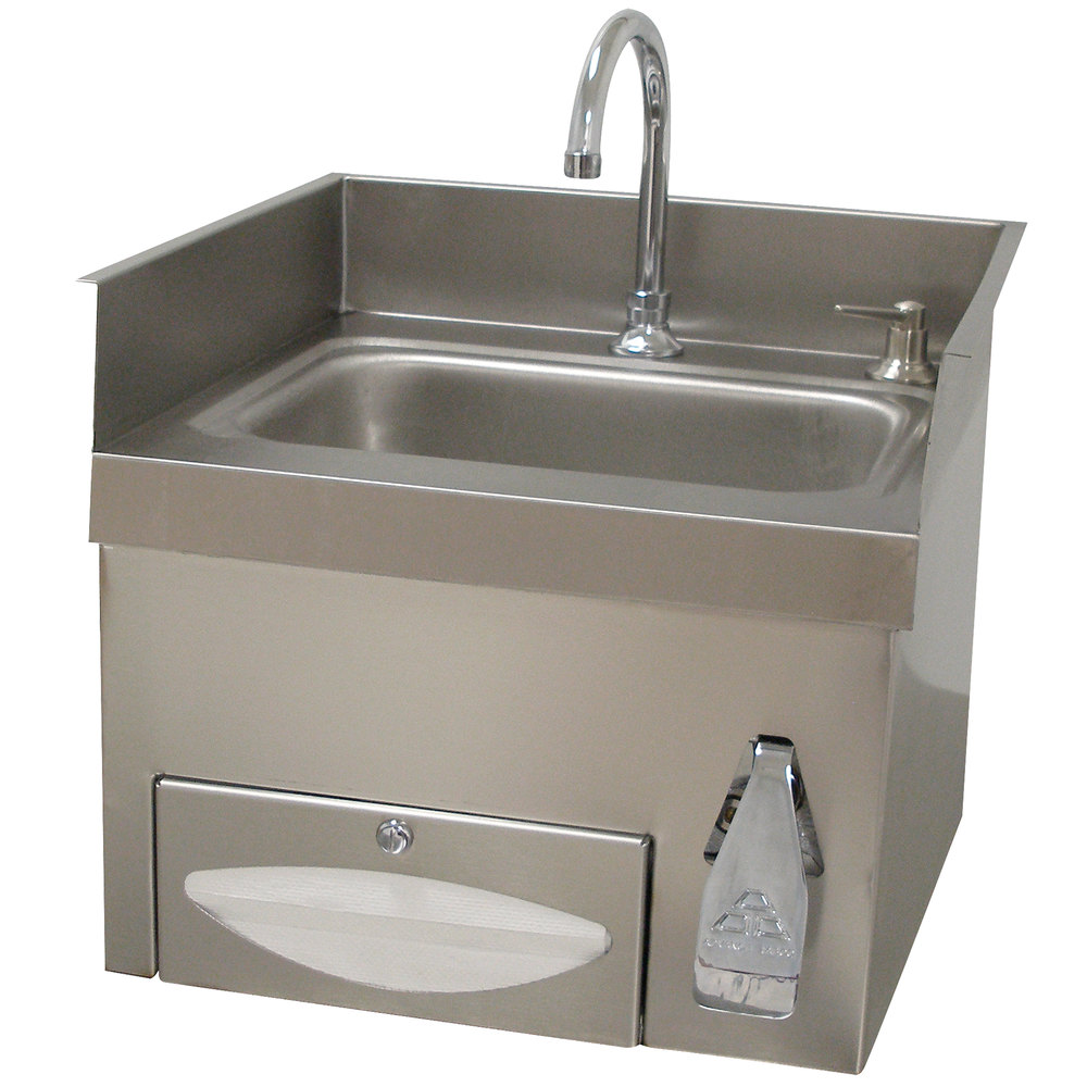 Commercial Hand Sinks & Hand Washing Stations