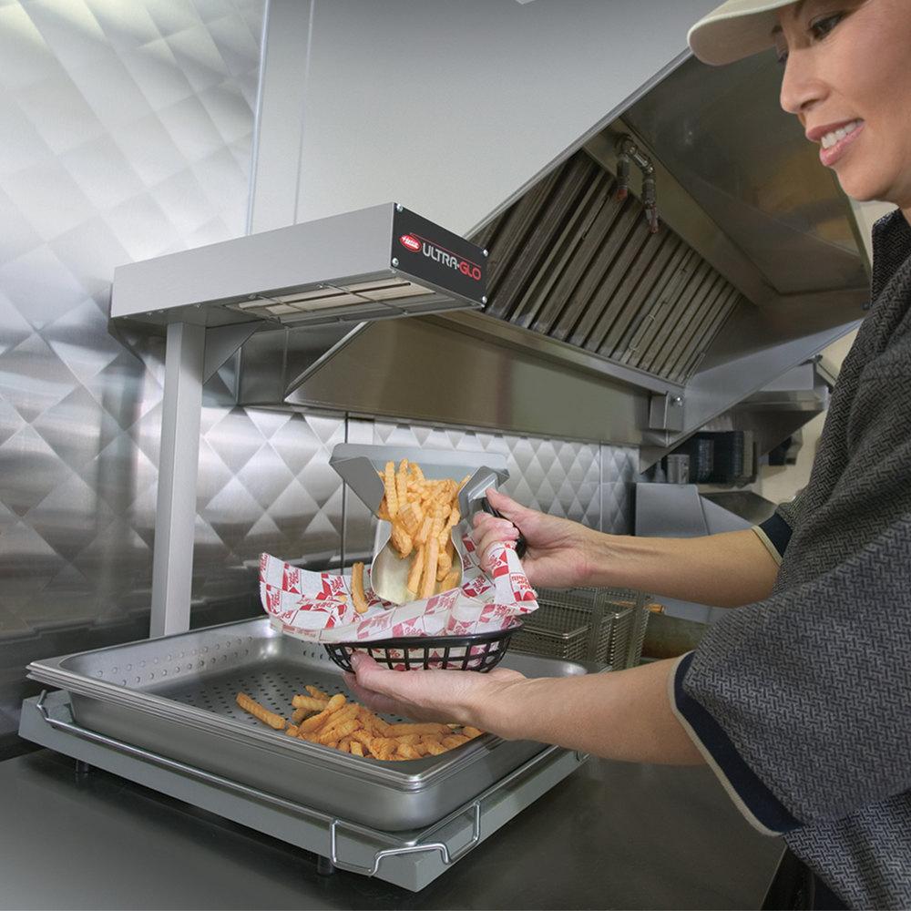 Food Warmers For Transporting Food ~ Hatco ugffb ultra glo portable food warmer with heated base