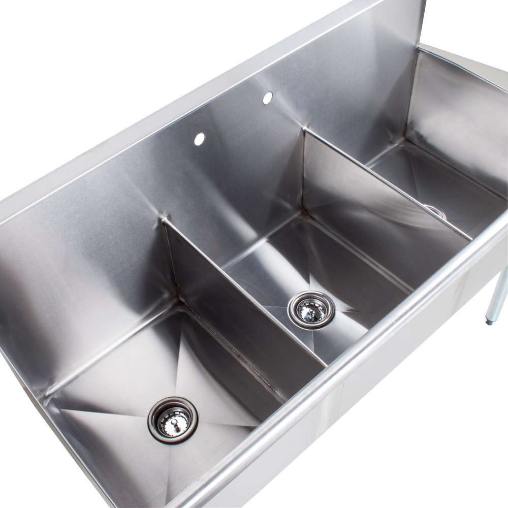 main picture image preview - Three Compartment Kitchen Sink