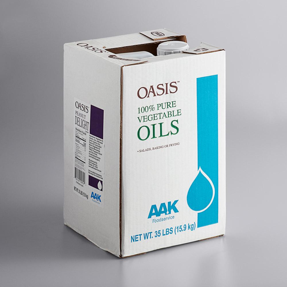 Boxed AAK Oasis peanut oil blend