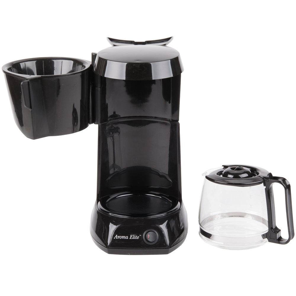 4 Cup Coffee Maker Auto Shut Off : Hamilton Beach HDC500C 4 Cup Coffee Maker with Auto Shut Off and Glass Carafe - 120V, 550W