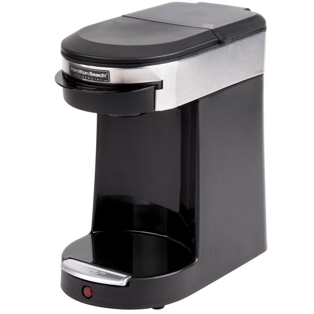 hamilton beach hdc200s stainless steel single serving pod coffee maker 120v 500w main picture image preview