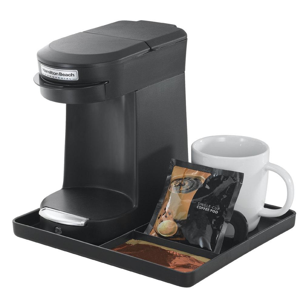Hamilton Beach Ct200b Black Compact Coffee Tray For