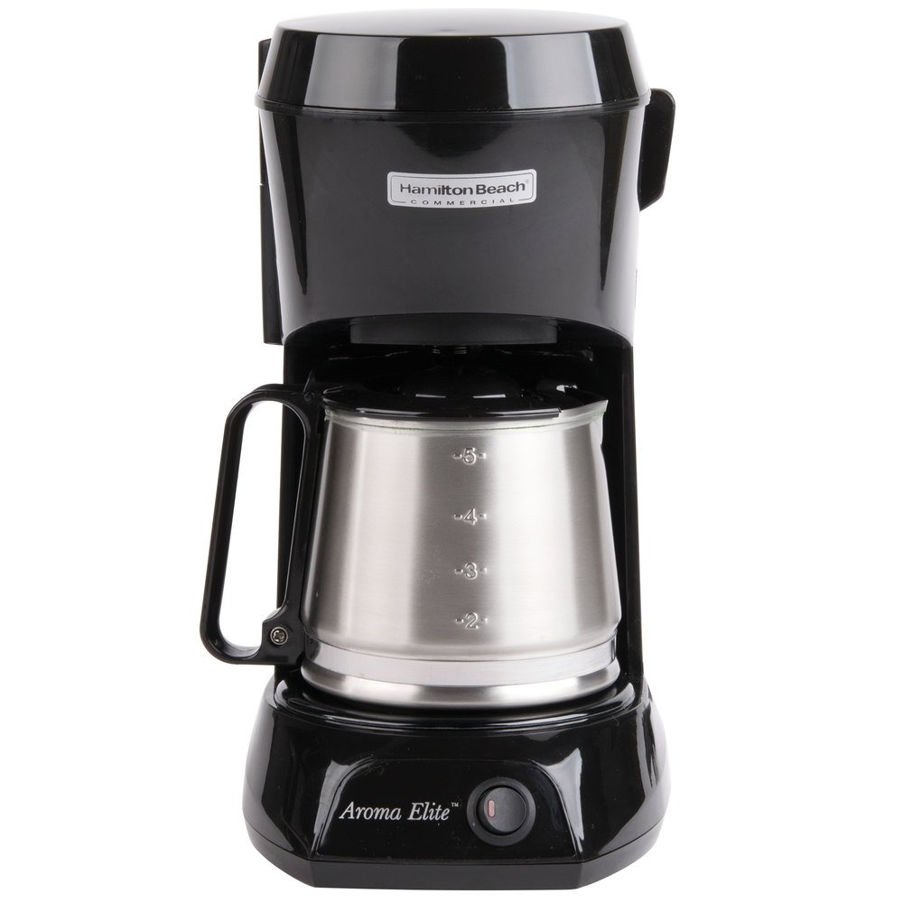 Coffee Maker Stainless Carafe : Hamilton Beach HDC500CS 4 Cup Coffee Maker with Auto Shut Off and Stainless Steel Carafe - 120V ...