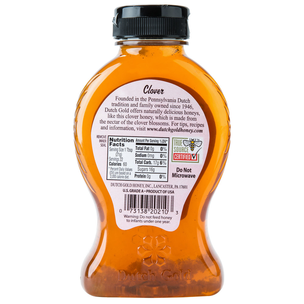 Dutch Gold 1 Lb. Clover Honey