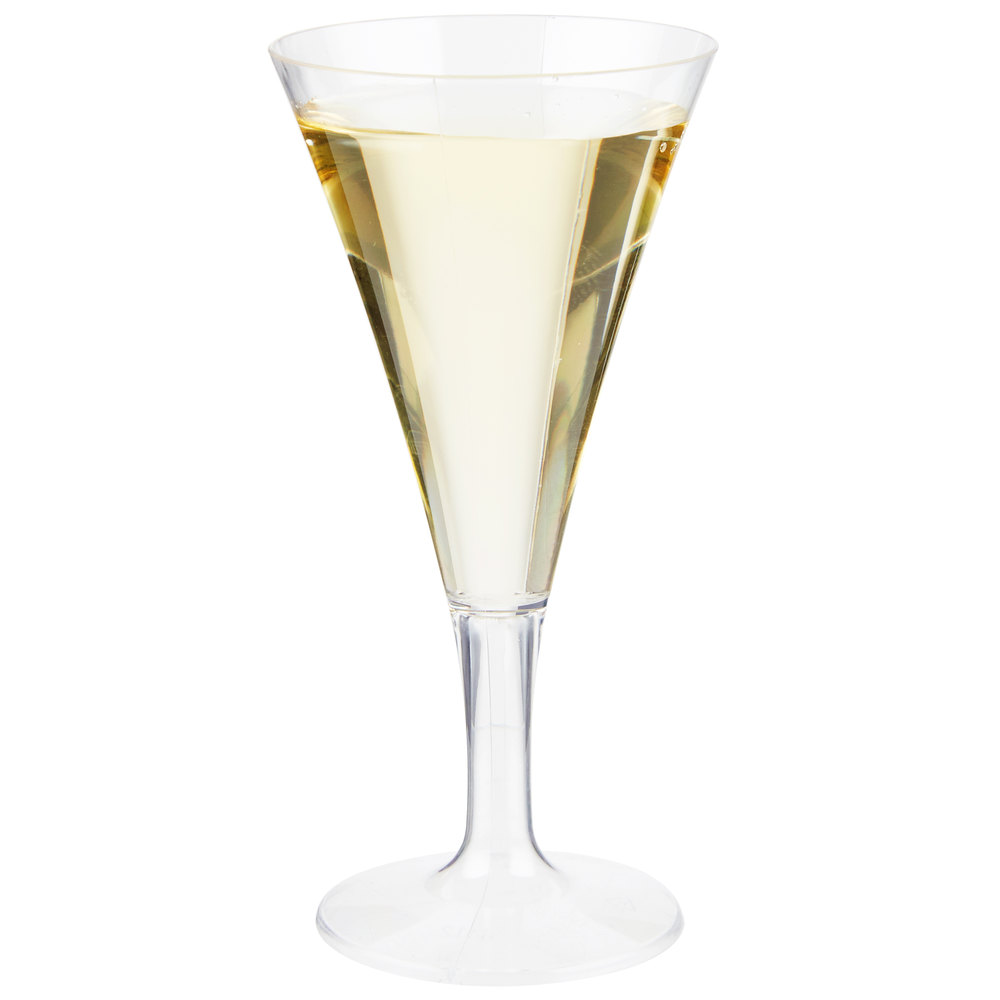 Fineline tiny temptations 6412 cl 2 oz 1 piece tiny barware clear plastic ro - Petite flute a champagne ...