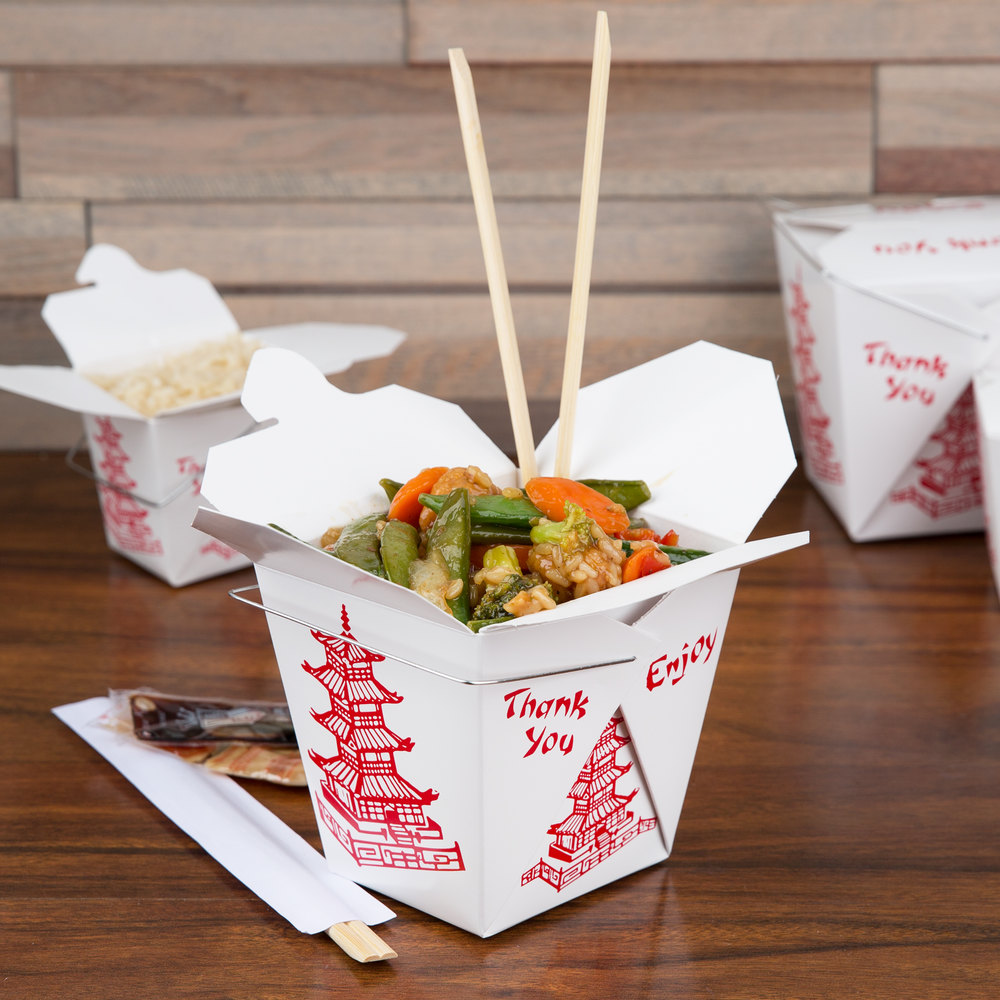 Asian carry-out cusine products