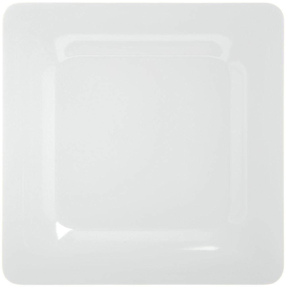 "Carlisle 4440002 Palette Designer Displayware White 12"" Melamine ... for Square Plate Designs  103wja"