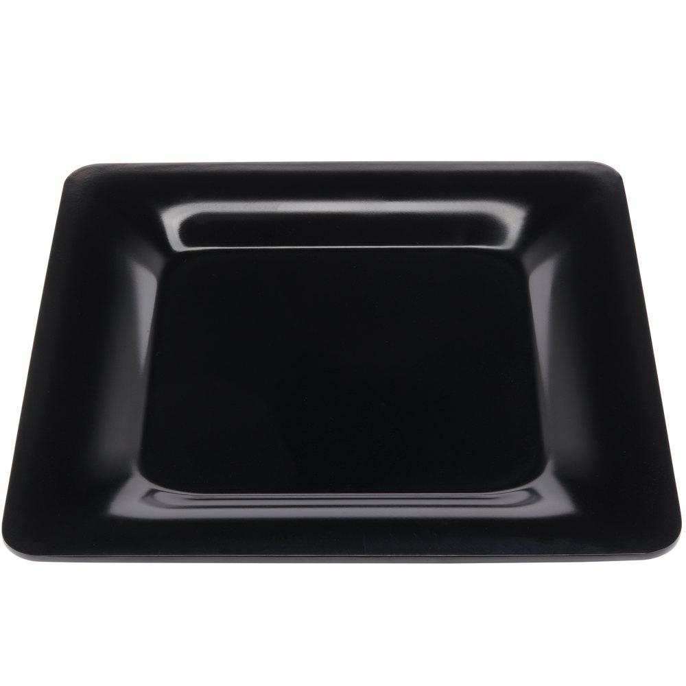 "Carlisle 4440003 Palette Designer Displayware Black 12"" x 12 ... for Square Plate Designs  61obs"