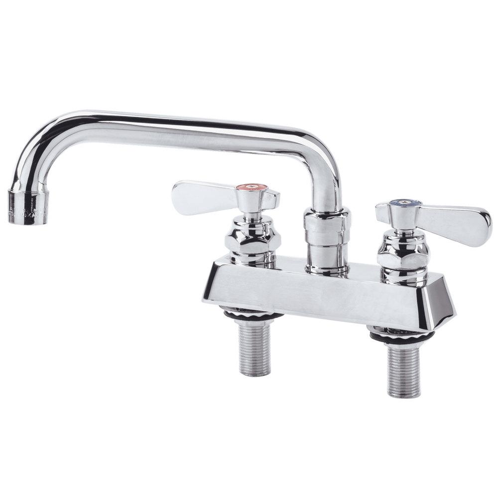 Regency Deck Mount Faucet with 4\