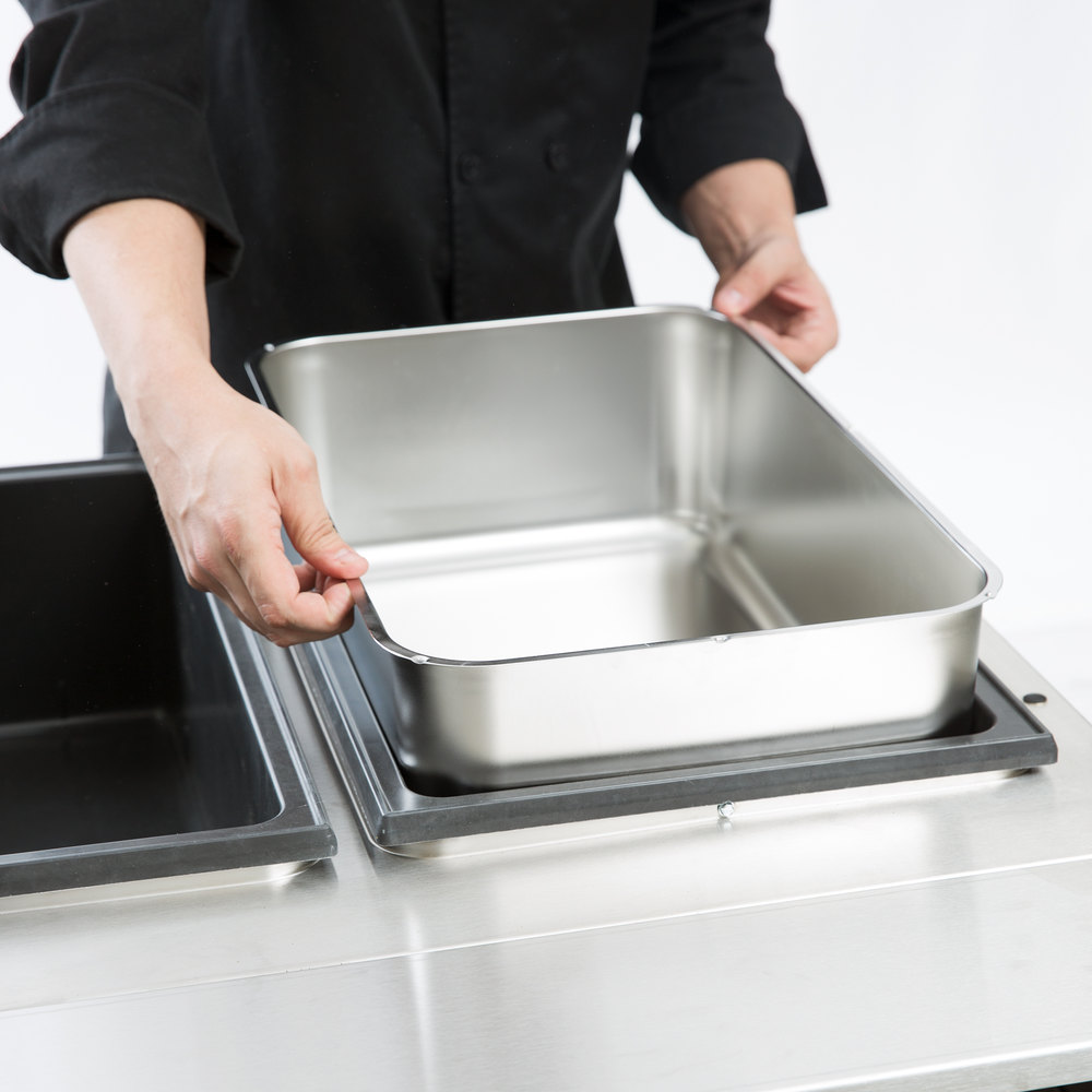 Full Size Stainless Steel Steam Table Spillage Water Pan
