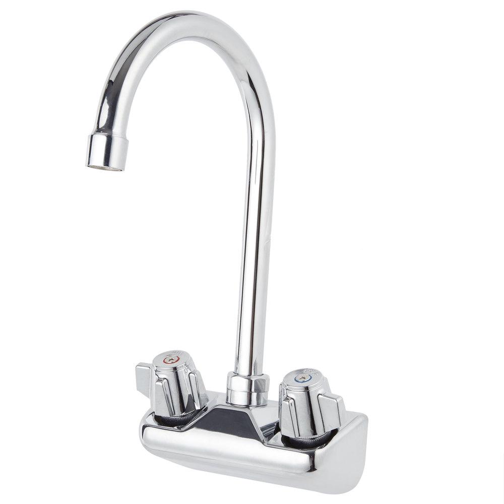 Wall Mount Gooseneck Faucet