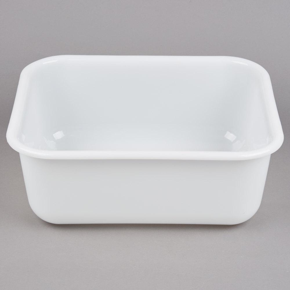 14 Inch X 13 Inch X 5 Inch Plastic White Storage Box ...