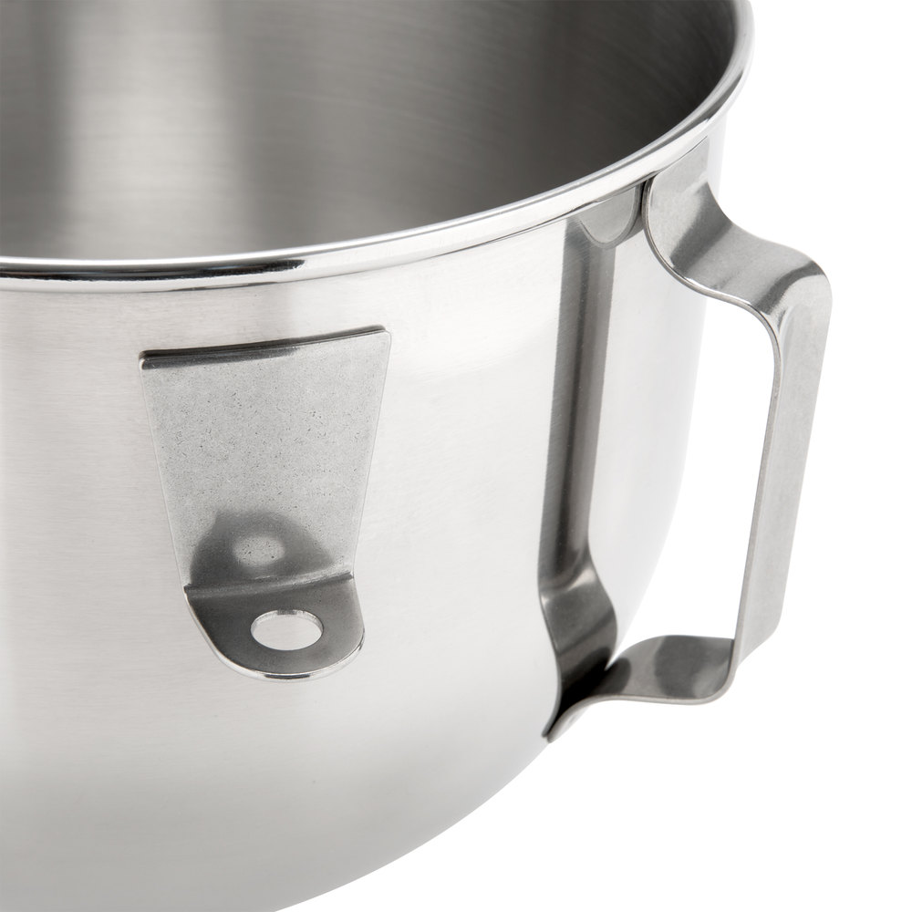 KitchenAid K5ASBP Stainless Steel 5 Qt. Mixing Bowl with Handle ...