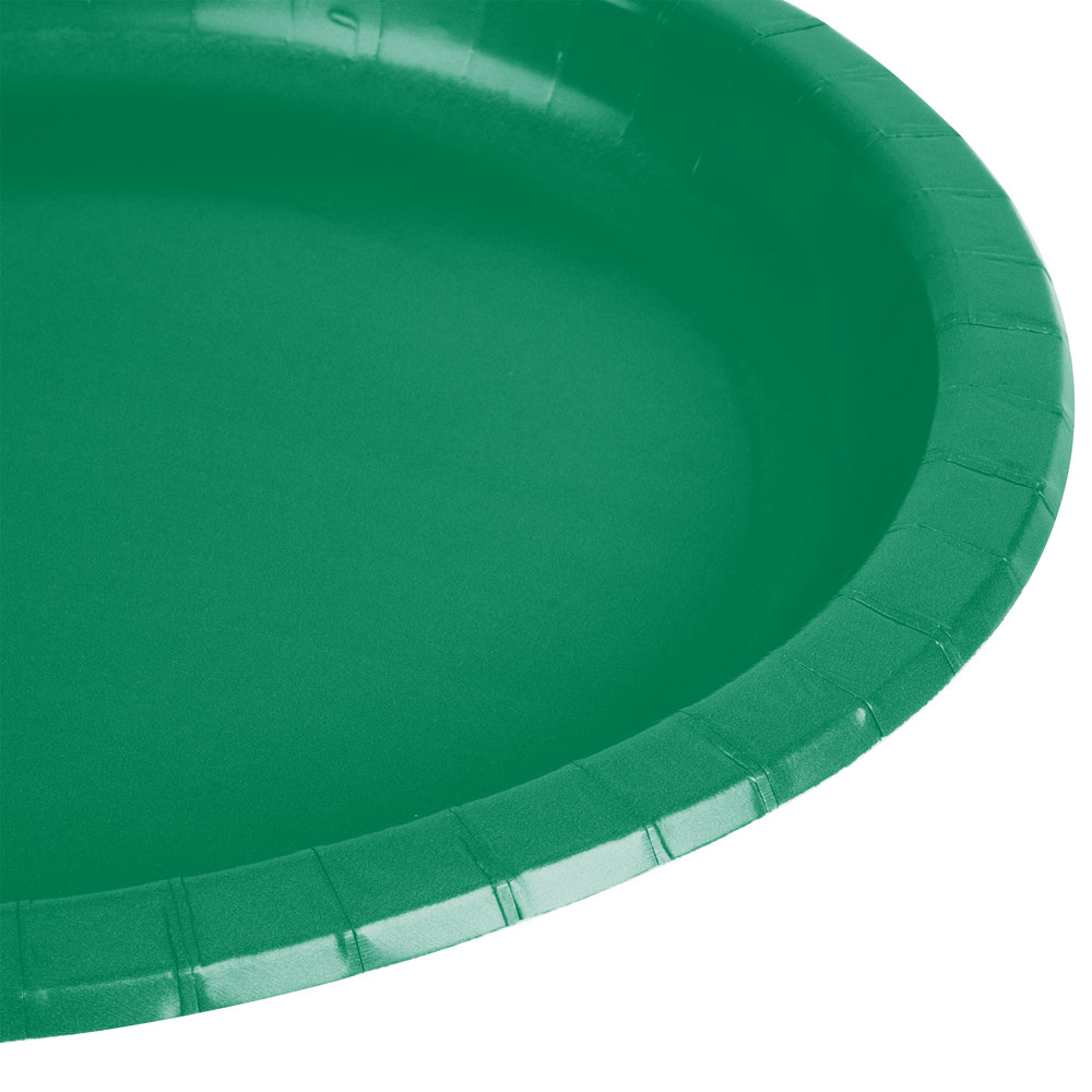 green paper plates Add a pop of color to your party table with these elegant square emerald green paper dessert plates pack of 16 square 7 emerald green paper plates make it easy to.