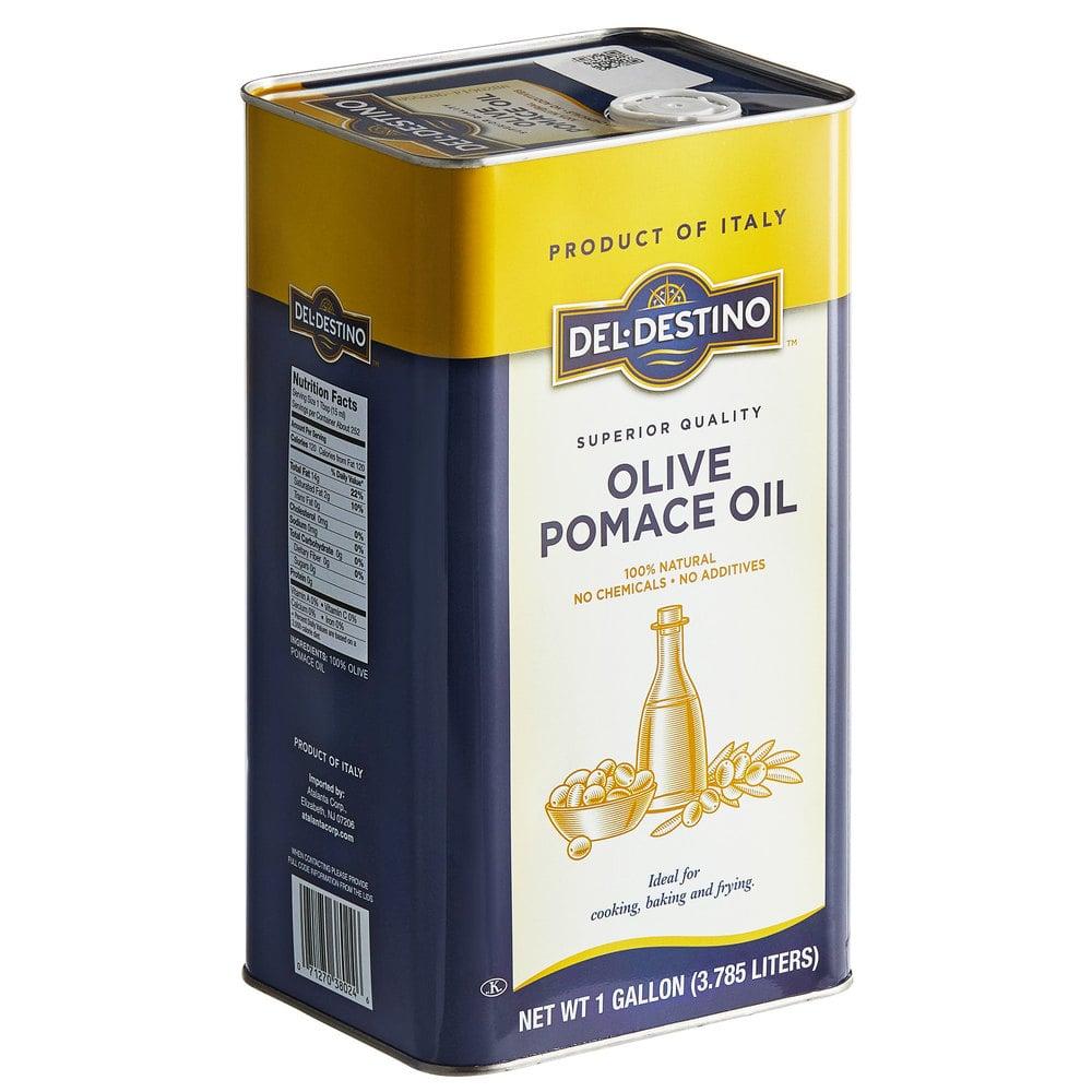 Tin of Del-Destino olive pomace oil