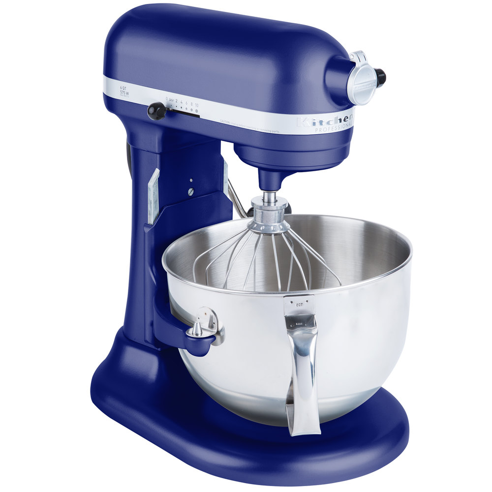 Kitchenaid Kp26m1xbu Cobalt Blue Professional 600 Series 6