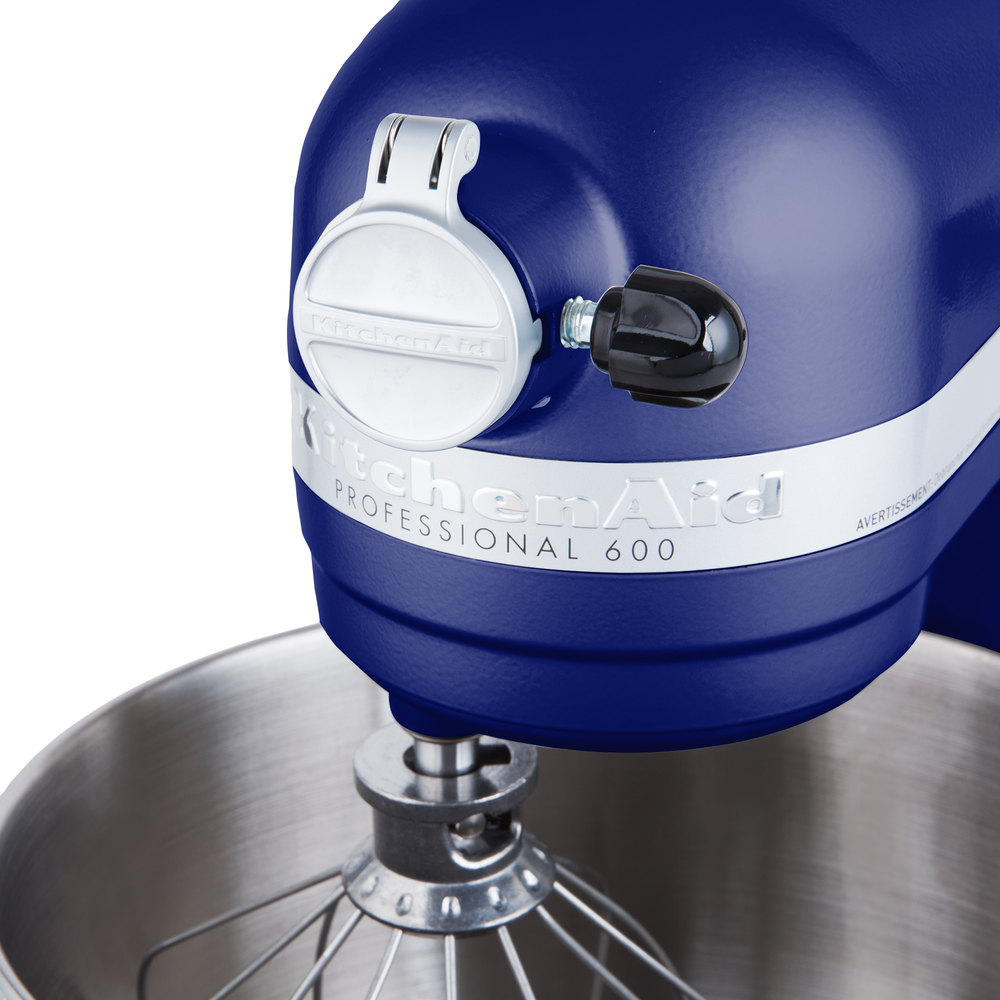 Kitchenaid Kp26m1xbu Cobalt Blue Professional 600 Series 6