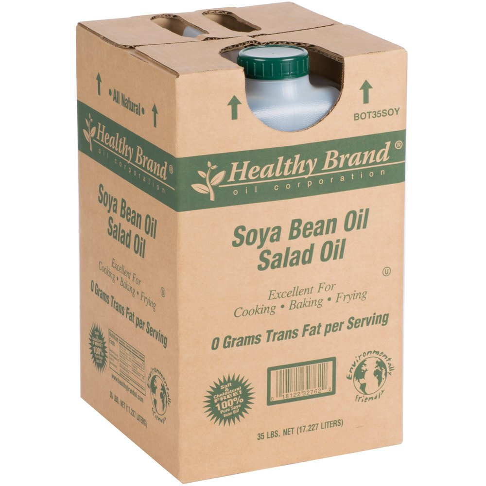 Box of Healthy Brand Soya Bean Salad Oil