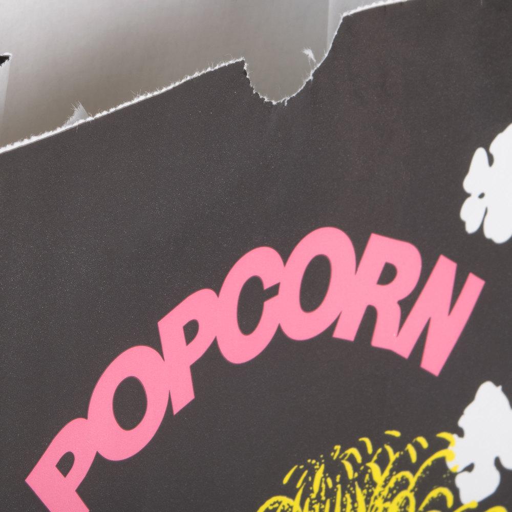 bagcraft papercon 300449 5 1 2 x 3 1 4 x 8 5 8 85 oz funburst design popcorn bag 500 case. Black Bedroom Furniture Sets. Home Design Ideas