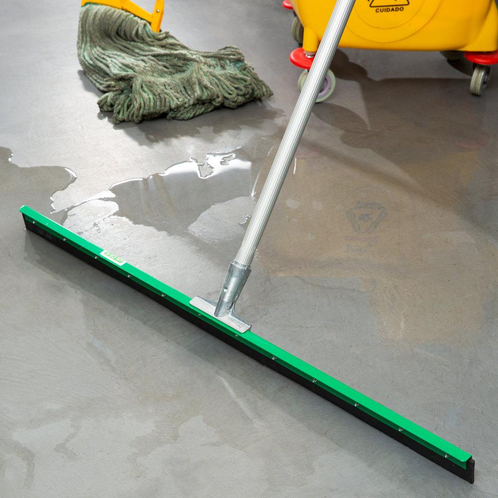 Unger fp900 aquadozer heavy duty 36quot straight floor squeegee for Floor squeegees heavy duty