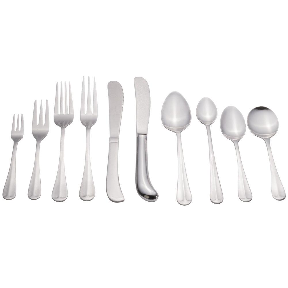 Queen Anne Flatware Stainless Steel Three Tine Dinner Fork