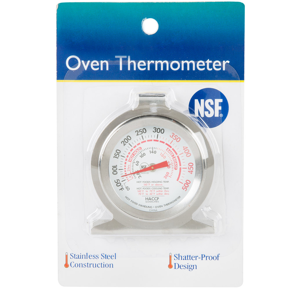 how to tell if thermometer is oven proof