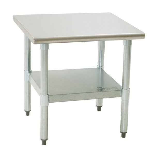 """Eagle Group MS3024S 30"""" x 24"""" Mixer Stand with Stainless Steel Undershelf Main Image 1"""
