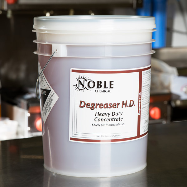 Noble Chemical 5 Gallon / 640 oz. Heavy Duty Degreaser Main Image 3