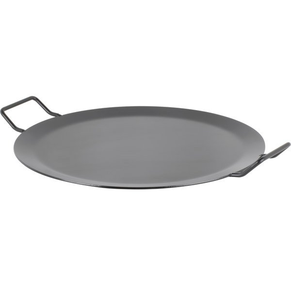 """American Metalcraft GS81 18"""" Round Wrought Iron Griddle"""