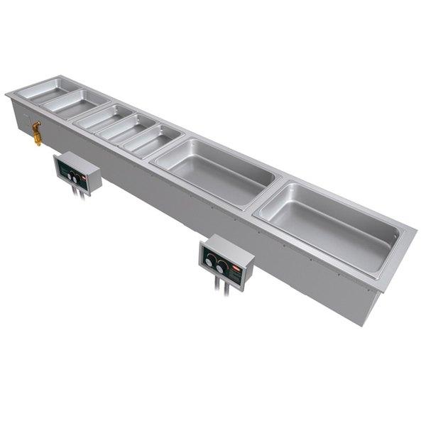 Hatco HWBI-S3 Slim Three Compartment Modular / Ganged Drop In Hot Food Well - 240V, 3615W