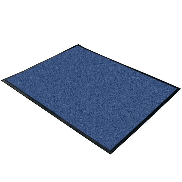 Cactus Mat Blue Washable Rubber-Backed Carpet - 4' Wide Main Image 1