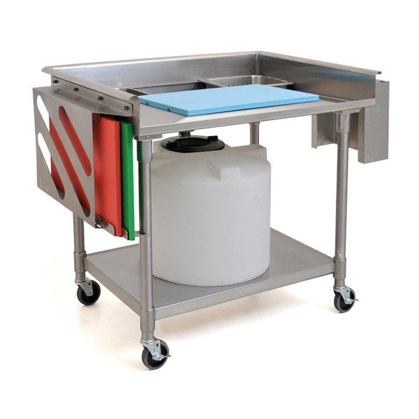 Eagle Group Mpt3042 30 X 42 Stainless Steel Mobile Prep Table