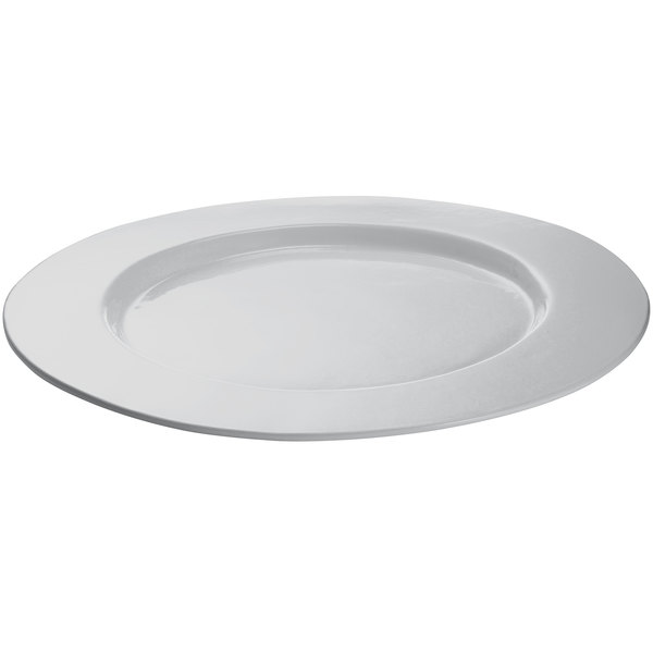 Tablecraft CW11004N 16 inch Natural Cast Aluminum Round Serving Plate