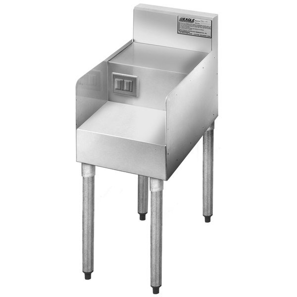 """Eagle Group MA1-18 12"""" Single Step Down Modular Add-On for 1800 Series Underbar Units Main Image 1"""