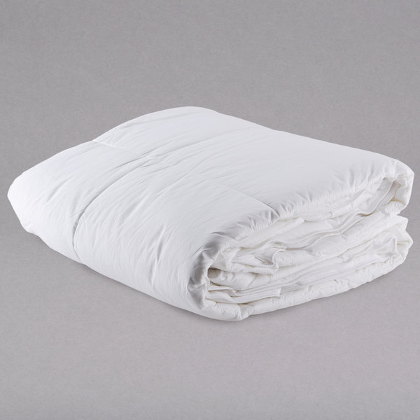 """Each 100% Cotton Hotel Duvet Insert with Micro Gel Polyester - 230 Thread Count - Queen 90"""" x 95"""""""